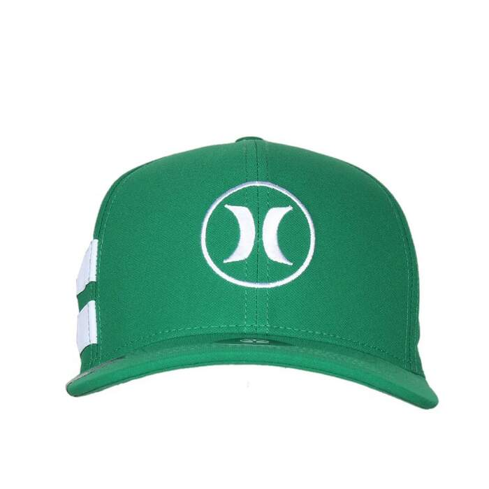 Boné Hurley Dri-Fit BP Icon Verde - Snapback