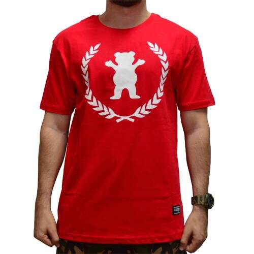 Camiseta Grizzly Premier Bear - Red