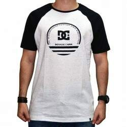 Camiseta Dc Raglan Snow - White