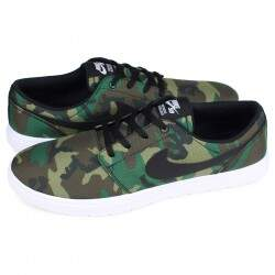 Tênis Nike SB Portmore II Ultra Light Canvas - Camuflado
