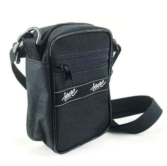 Bolsa Lateral Save Shoulder Bag Mini Tag horiz - Preto