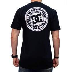 Camiseta DC Circle Star - Preto