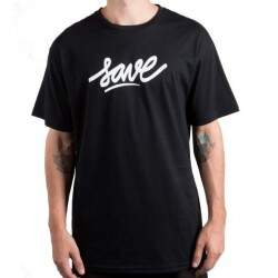 Camiseta Save Logo - Preto