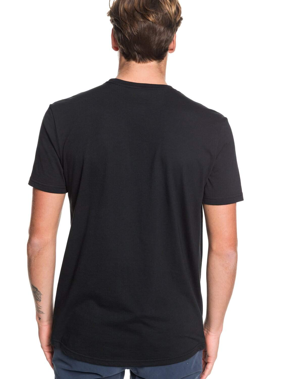 Camiseta Quiksilver Night Tract - Preto