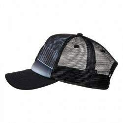 Boné Quiksilver Stripe Pipes Black - Snapback