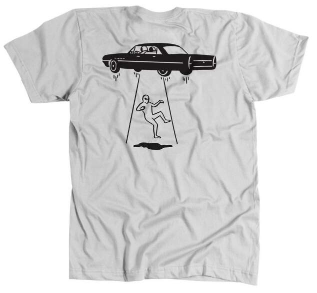 Camiseta Save Abduction - Branco