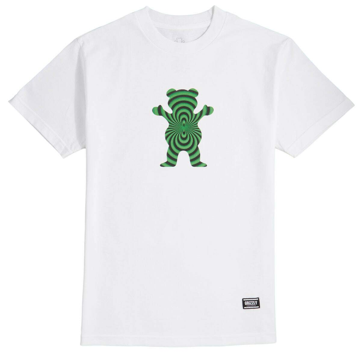 Camiseta Grizzly Warped Bear - White