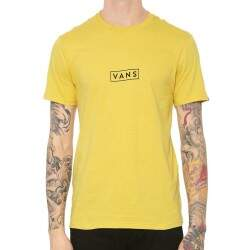 Camiseta Vans Easy Box - Amarelo