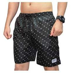 Short New Skate Elástico Sorry - Preto