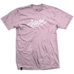 Camiseta Save Logo - Rosa