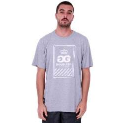 Camiseta Double G Basic - Cinza
