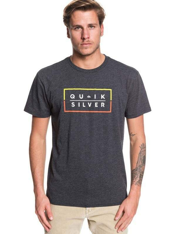 Camiseta Quiksilver Clued up - Mescla