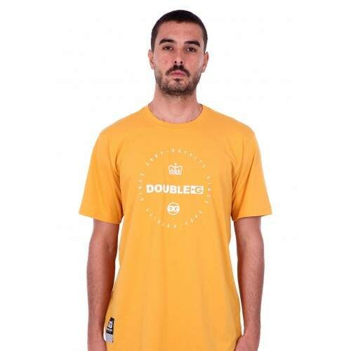 Camiseta Double G Basic - Amarelo