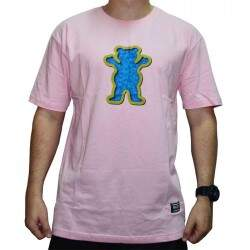 Camiseta Grizzly Og Swimmer - Pink