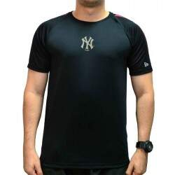 Camiseta New Era Mbv Performance Dry Fit New York Yankees - Preto