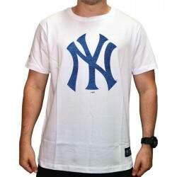 Camiseta New Era Mbv Denim New York Yankees - White