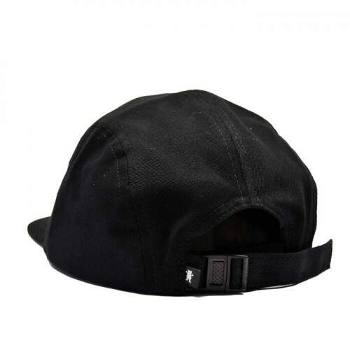 Boné Grizzly 5Panel Stamped Black - Strapback