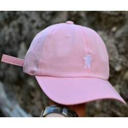 Boné Grizzly Dad Hat Og Bear Pink - Strapback