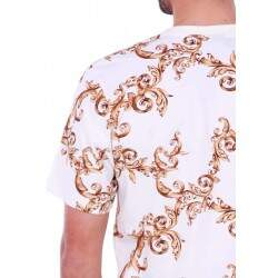 Camiseta Double G Flowers - Branco