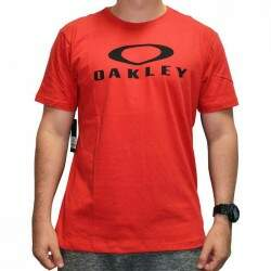 Camiseta Oakley O-Bark Tee - Rusty