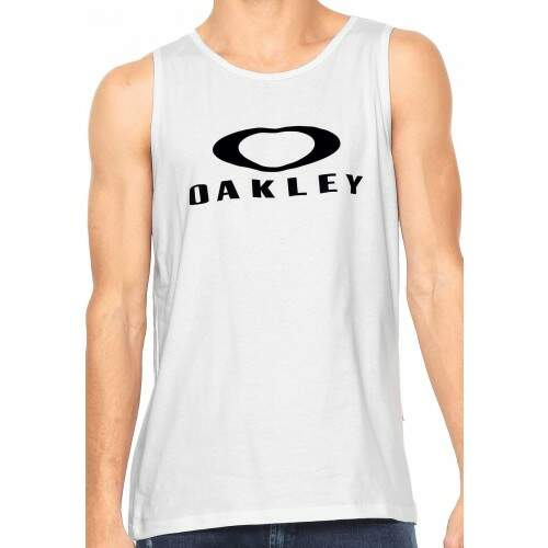 Camiseta Regata Oakley Mark Ii - Branco