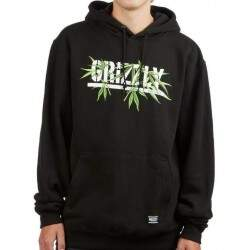 Moletom Grizzly Seed Stamp Hoodie - Preto