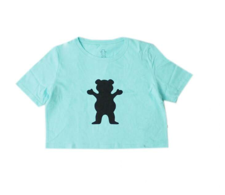 Cropped Grizzly Og Bear - Celadon