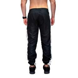 Calça Your Face Jogger Tactel Listra - Preto