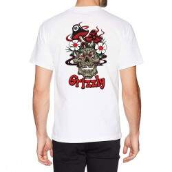 Camiseta Grizzly Skullshrooms Tee - White
