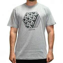 Camiseta Quiksilver Bubble Dreams - Cinza