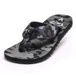 Chinelo kenner Kivah Cush Force Camo - Cinza