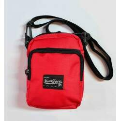 Bolsa Lateral Shoulder Bag Your Face - Vermelho