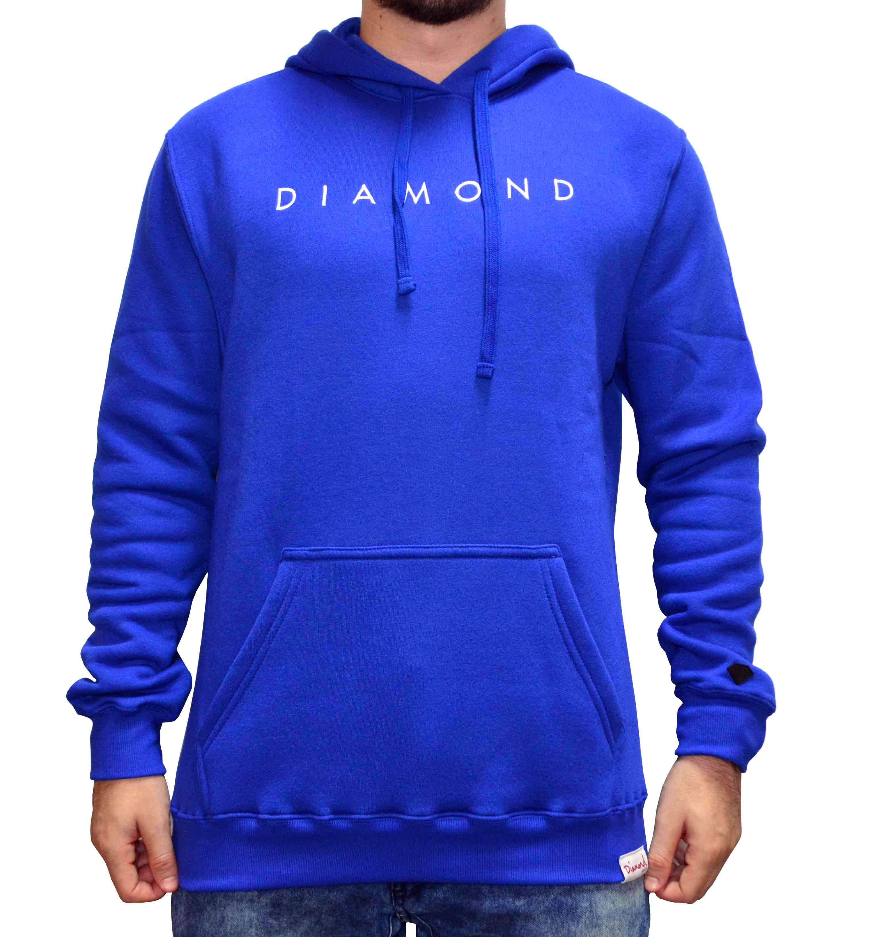 Moletom Diamond Supply Co Leeway - Royal