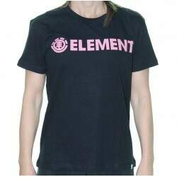Camiseta Element Logo - Preto