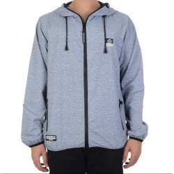 Jaqueta HD Windbreaker Corta Vento Basic - Cinza
