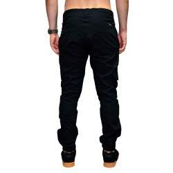 Calça Your Face Jogger Cargo - Preto