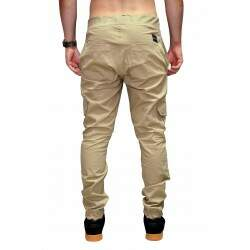 Calça Your Face Jogger Cargo - Khaki