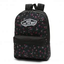Mochila Vans Backpack Beauty Floral - Black
