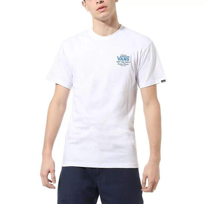 Camiseta Vans Cotton Holder St Classic - Branco