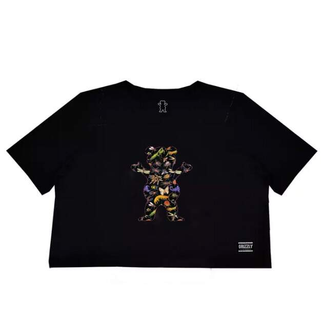 Cropped Grizzly Og Bear - Preto