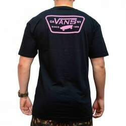 Camiseta Vans Full Patch Back - Preto