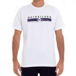 Camiseta Quiksilver jungle Jim - Branco