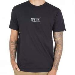 Camiseta Vans Cotton Easy Box - Preto