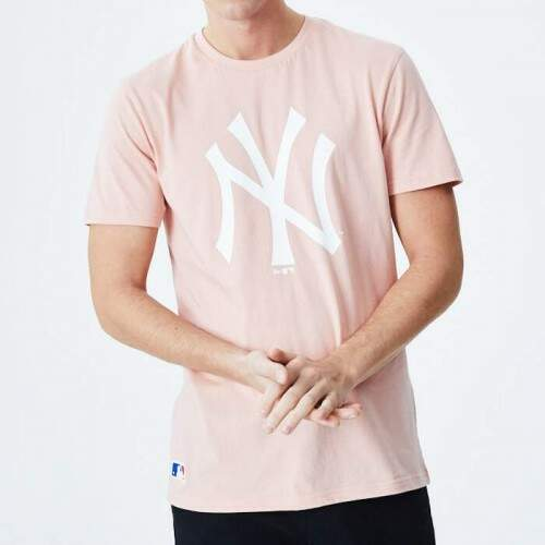 Camiseta New Era MLB Essentials Yankees - Rosa