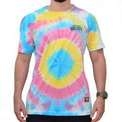 Camiseta Grizzly Outdoor Equip Tie Dye