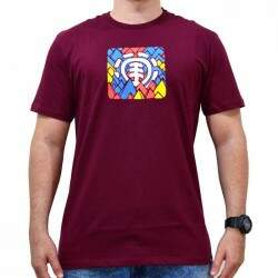 Camiseta Element Pallete - Vinho
