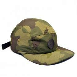 Boné Your Face 5Panel Camo Verde - Strapback