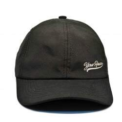 Boné Your Face Dad Hat Tactel Preto - Strapback