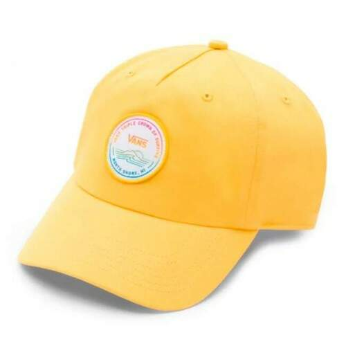 Boné Vans Dad Hat Vtcs Logo Lemon Chrome - Strapback