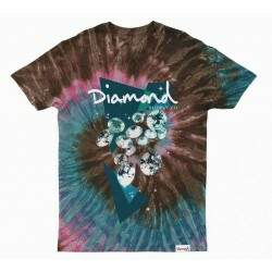 Camiseta Diamond Supply Co Galactic - Tie Dye